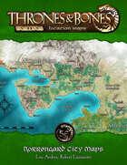 Thrones & Bones: Norrøngard City Maps