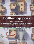 Battlemap [32x32] Two streets city