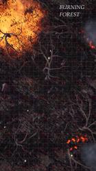 Burning Forest, Animated & Static