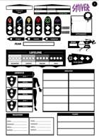 SHIVER RPG Character Sheet