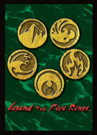 Legend of the Five Rings: Second City Boxed Set Technique Cards