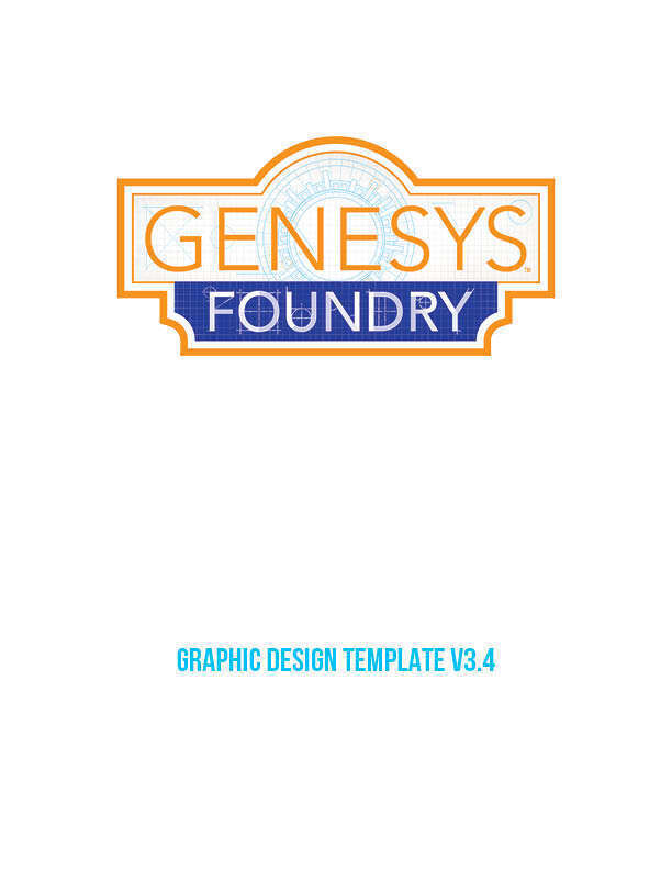 Genesys Foundry Graphic Design Templates