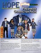 Hope Prep School Freshman Character Pack - Genesys Edition