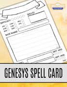 Blank Spell Cards