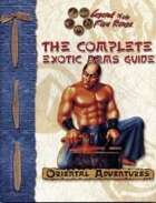 The Complete Exotic Arms Guide