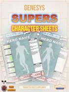 SUPERS Character Sheet for Genesys