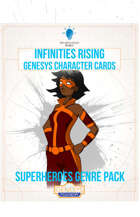 Infinities Rising - Genesys Character Cards - Superheroes