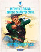 Infinities Rising - Genesys Character Cards - Western