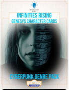 Infinities Rising - Genesys Character Cards - Conspiracy