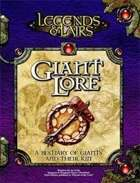 Legends & Lairs: Giant Lore