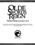 Olde Swords Reign Compatibility License