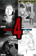 Monster of The Week Mystery 4 Pack! [BUNDLE]