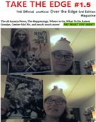Take the Edge fanzine, issue 1.5 AKA #1.5