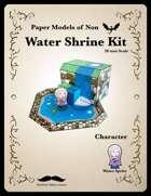 Water Shrine Paper Kit
