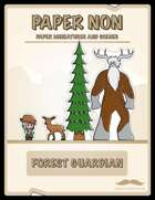 Forest Guardian Paper Kit