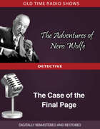 The Adventures of Nero Wolfe: The Case of the Final Page