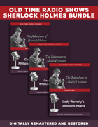 Adventures of Sherlock Holmes [BUNDLE]