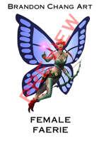 Fantasy Character Stock Art: Female Faerie