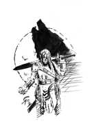 Werewolf, Get of Fenris, Apocalypse ( Full Page )