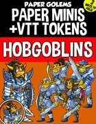 Paper Golems Paper Minis & VTT: Hobgoblins