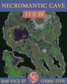 Necromantic Cave [33x39]