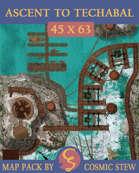 Ascent to Techabal [45x63]