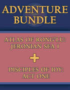 5E ADVENTURE PAIR: Jeronian Sea I & Disciples Act One [BUNDLE]