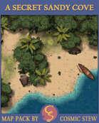 A Secret Sandy Shore [24 x 20]