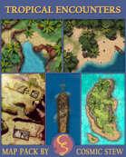 Tropical Encounters Battlemap Bundle