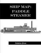 Ship Map: Paddle Steamer