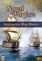 Naval Warfare: Interactive Ship Sheets