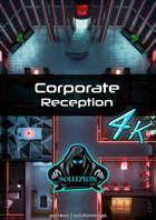Corporate Reception 4k - Cyberpunk Animated Battle Map