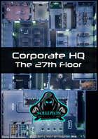 Corporate Headquarters 27th Floor 1080p - Cyberpunk Animated Battle Map
