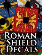 Roman Shield Decals