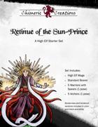 The Retinue of the Sun Prince: A High Elf Starter Set