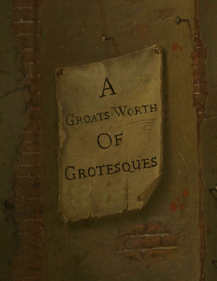 A Groats-worth of Grotesques