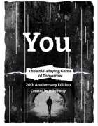 You - The RPG of Tomorrow - 20th Anniversary Edition