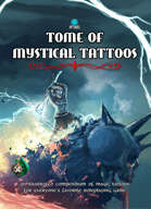 Tome of Mystical Tattoos (Thunder Deity Cover)