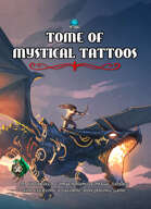 Tome of Mystical Tattoos (Sun Deity Cover)