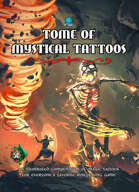 Tome of Mystical Tattoos (War Deity Cover)
