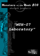 [ENG] Monsters of the Week 08 - MTH-07 Laboratory