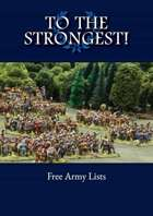 To the Strongest! Free Army List eBook
