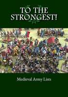 To the Strongest! Medieval Army List eBook