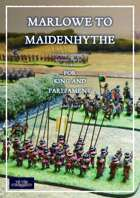 TtS! For King and Parliament - Marlowe to Maidenhythe scenario eBook