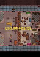 Civilian Friends Token Pack