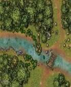 River Battle Map