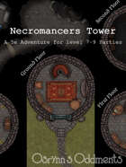 Necromancers Tower - 5e Adventure (level 7-9)