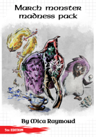 March Monster Madness Pack Remastered (OGL 5e)