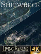 Shipwreck | 4 Animated & Static Maps | 4K
