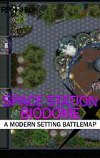 Space Station Biodome (27x19) Modern Battle Map